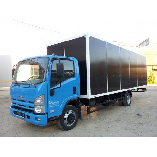 Фургон мебельный на базе Isuzu nqr75