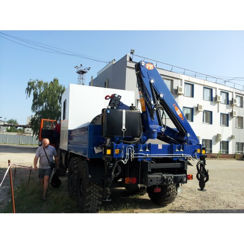 Кран-манипулятор КамАЗ 43118